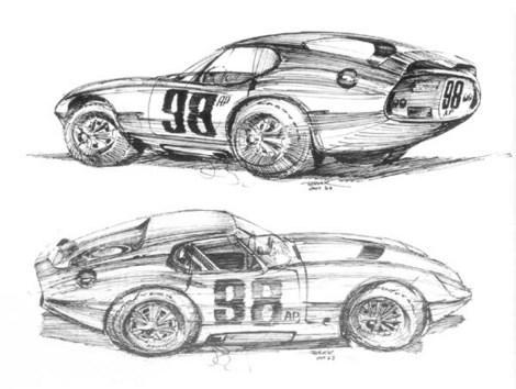 Sketches Mustang on Brock Daytona Drawings Large Jpg 1231645954